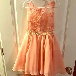 Other - Beautiful Pink Flower Girl Dress - Size 6 - NWT